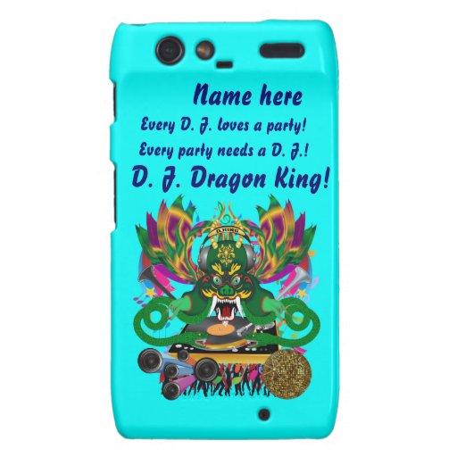 El carnaval D.J. Dragon rey visión hace alusión po Droid RAZR Carcasas