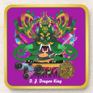 El carnaval D.J. Dragon rey visión hace alusión po Posavasos De Bebidas