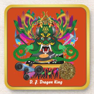 El carnaval D.J. Dragon rey visión hace alusión po Posavasos De Bebida