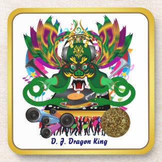 El carnaval D.J. Dragon rey visión hace alusión po Posavasos