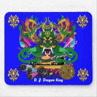 El carnaval D.J. Dragon rey visión hace alusión po Alfombrillas De Ratones
