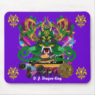 El carnaval D.J. Dragon rey visión hace alusión po Tapete De Ratón