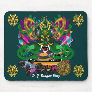 El carnaval D.J. Dragon rey visión hace alusión po Alfombrilla De Ratón