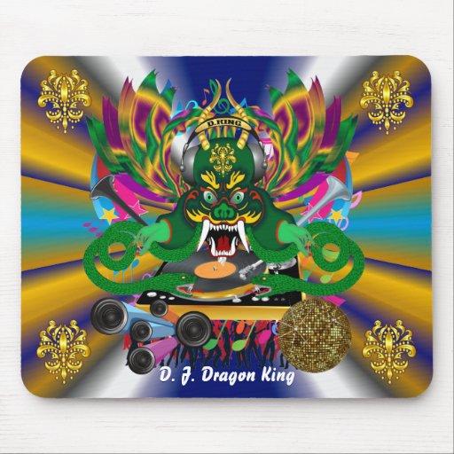 El carnaval D.J. Dragon rey visión hace alusión po Tapetes De Ratón