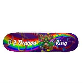 El carnaval D J Dragon rey visión observa por fav Tablas De Skate