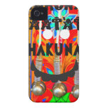 El carnaval de la samba colorea Hakuna Matata Case-Mate iPhone 4 Carcasa