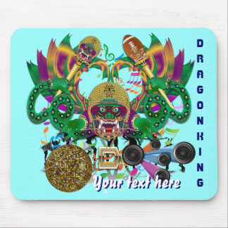 El carnaval del fútbol del dragón ve por favor alfombrillas de ratones