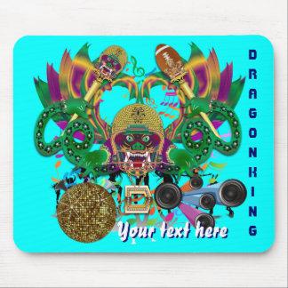 El carnaval del fútbol del dragón ve por favor alfombrilla de raton