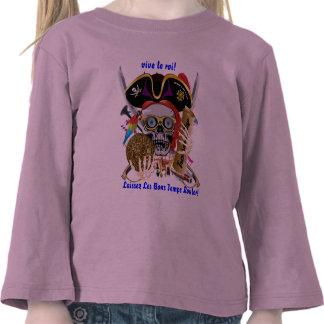 El carnaval del pirata ve por favor notas camiseta