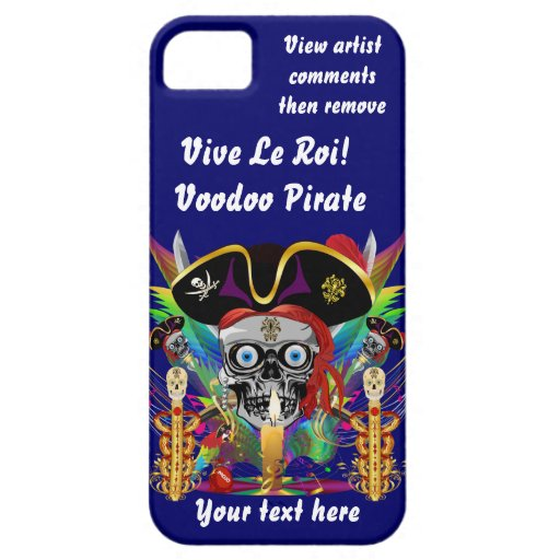 El carnaval del pirata ve por favor notas iPhone 5 carcasa