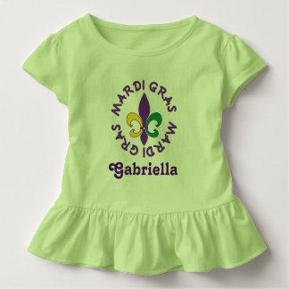 El carnaval personalizó la camiseta de la camiseta playera
