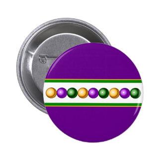 El carnaval púrpura gotea el botón pins