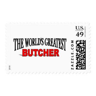 El carnicero más grande del mundo sello