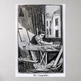 El carpintero impresiones