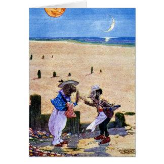 El carpintero y la morsa - Alicia en el país de Tarjeta De Felicitación