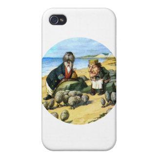 El carpintero y la morsa consideran ostras iPhone 4 funda