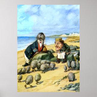 El carpintero y la morsa en el país de las maravil poster