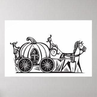 El carro de Cenicienta Póster