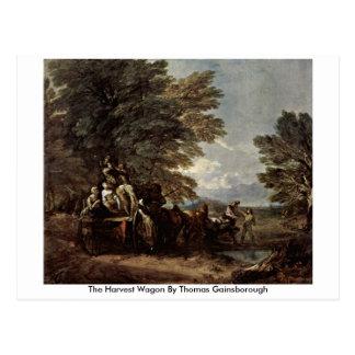El carro de la cosecha de Thomas Gainsborough Postales