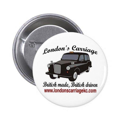 El carro de Londres Pin