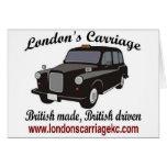 El carro de Londres Tarjetón