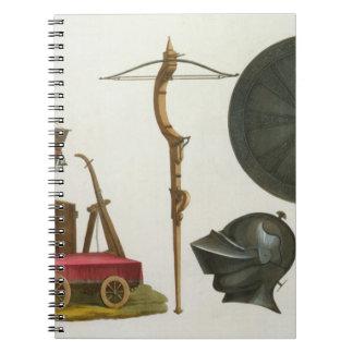 El carro, la ballesta y la armadura milaneses, pla libros de apuntes