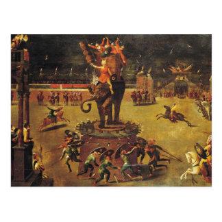 El carrusel del elefante postal