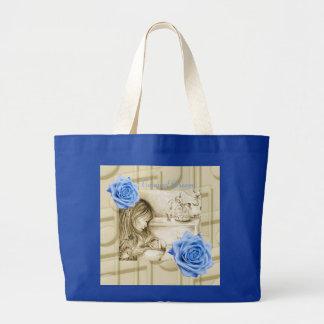 El carrusel soña rosas y la bolsa de asas azules d