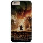 El cartel de película de Hobbit - de Laketown Funda De iPhone 6 Plus Barely There