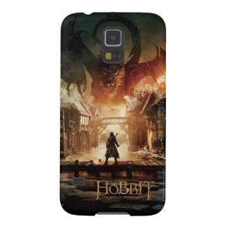 El cartel de película de Hobbit - de Laketown Funda De Galaxy S5