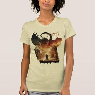El cartel de película de Hobbit - de Laketown Camisetas
