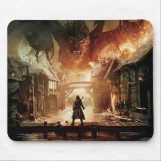 El cartel de película de Hobbit - de Laketown Alfombrilla De Ratón