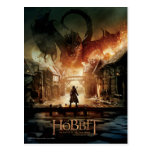 El cartel de película de Hobbit - de Laketown Postal
