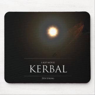 "El cartel de película de ""KERBAL"" (cojín de ratón) Tapetes De Raton"