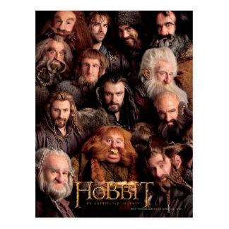 El cartel de película de la compañía tarjetas postales