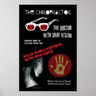 El cartel de película del Chiropractor Póster