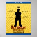 El cartel de película del cumpleaños (muchacho) poster