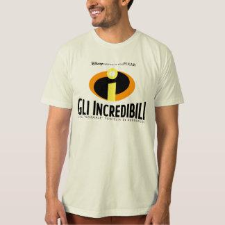El cartel de película italiano Disney de Camisas