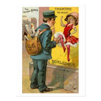 """El cartero """"ocupado"""" postales"""