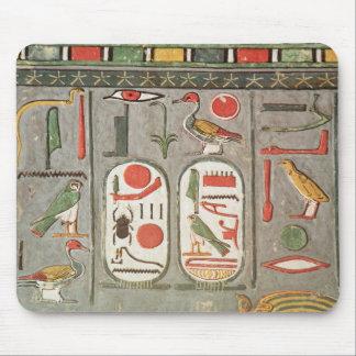 El cartouche del rey tapetes de ratón
