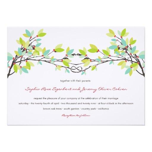 el casarse anudado primavera de los árboles de amo