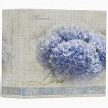 El casarse azul romántico de los Hydrangeas