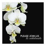 El casarse blanco elegante/Cualquier-Ocasión de Invitaciones Personales