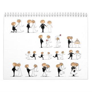 el casarse calendarios