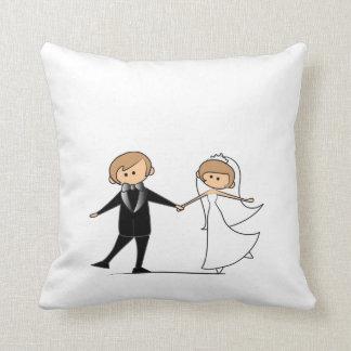 el casarse cojín