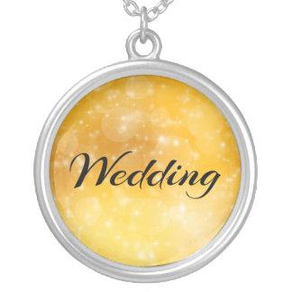 El casarse pendiente personalizado