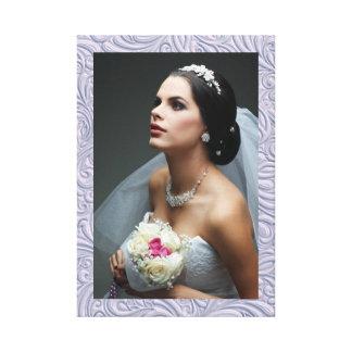 El casarse/cualquier fotografía - impresión de la  impresiones en lienzo estiradas
