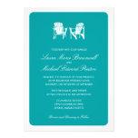 El casarse de dos sillas de Adirondack Invitaciones Personales