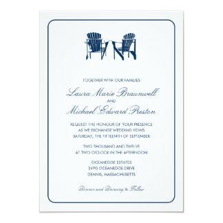 El casarse de dos sillas de Adirondack Comunicado Personal