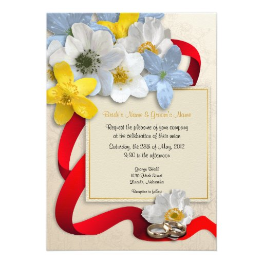 El casarse de las flores de la anémona invita - a